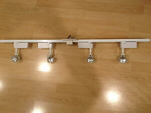 Kendal light track lighting 4' x 3 sections