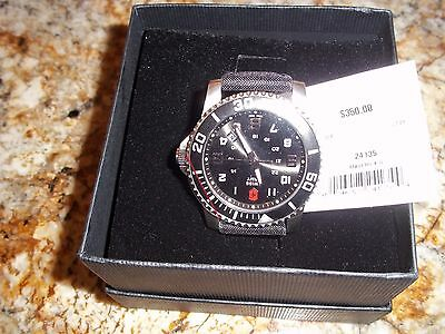 Victorinox Swiss Army Maverick ll 24135 Men's Watch stainless steel  black