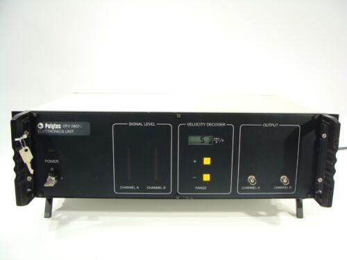 Polytec Fiber Interferometer Laser Doppler Vibrometer Electronics Unit OFV-2802i