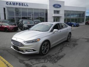 2018 Ford Fusion Former Campbell's Service Loaner
