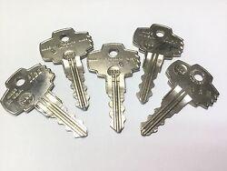 Ilco 1025R Keys, Set of 5 - Locksmith