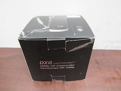 Brown Camcorders - DXG Luxe Collection 1080p HD Camcorder DXG-5C1VN HD - Hibiscus Brown [8D]
