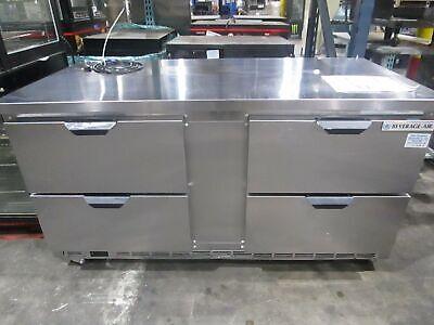 Beverage Air Wtrd60ahc-4 60 4 Drawer Worktop Cooler Refrigerator