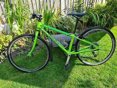ISLABIKE Beinn 24 - boys' or girls' lime green bike suit aged 7-10yrs EXC COND