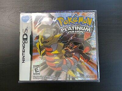 Pokemon Platinum Version Nintendo DS Brand New Sealed in Box USA Shipping