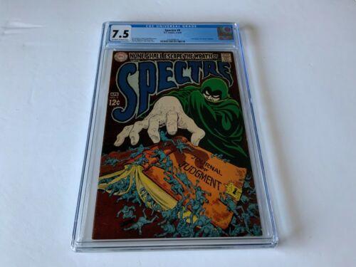 SPECTRE 9 CGC 7.5 JOURNAL OF JUDGMENT BERNIE WRIGHTSON DC COMICS 1969