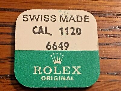 Genuine Rolex 1120-6649 Screw for set lever  Selling 1 from Factory Package