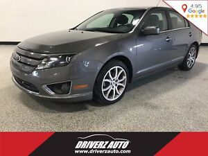 2012 Ford Fusion SEL CLEAN CARPROOF, ALL WHEEL DRIVE, LEATHER