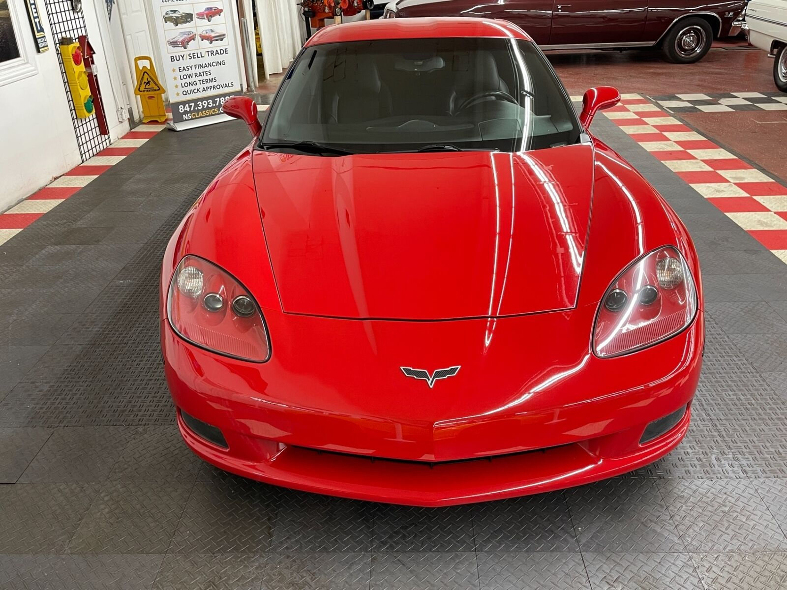 2007 Red Chevrolet Corvette   | C6 Corvette Photo 7