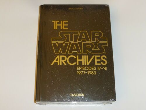 The Star Wars Archives 40th Anniversary Book Episodes IV-VI 1977-83 Paul Duncan