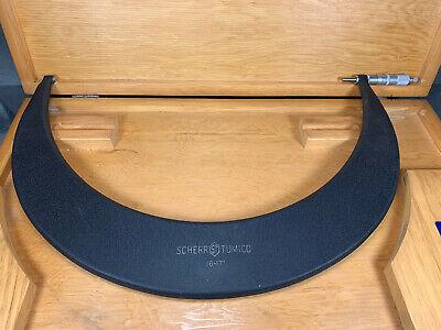 Scherr Tumico 16-17 Tubular Outside Micrometer W Case