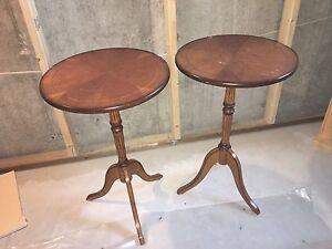 Solid wood antique tables