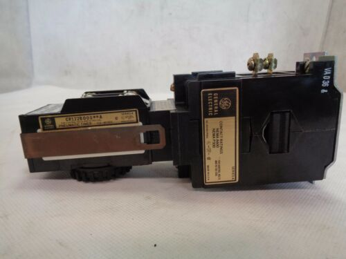 NEW GE GENERAL ELECTRIC CR122B00002A CR122B000**A TIMING RELAY 110/120V COIL