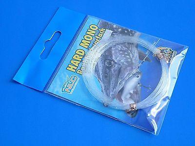 Hard Mono Behr Vorfach Hardmono Raubfischvorfach 20kg Tragkraft Spule Angeln