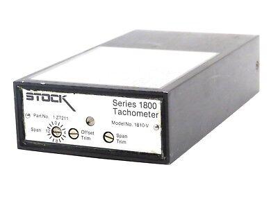 New Stock Equipment 1-z7211 Tachometer Series 1800 1z7211