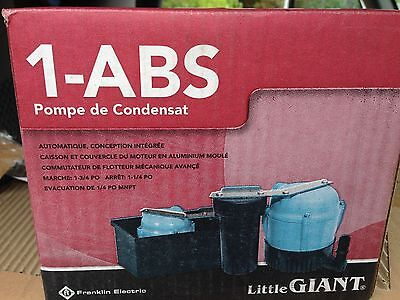 115v Compact Submersible 1150 Hp Condensate Pump 1.1 Amps 4.3 Psi 2gzg4