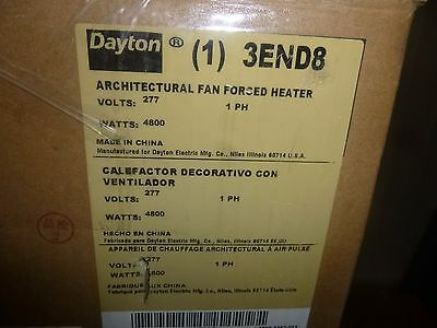 0683 New Dayton - Electric Wall Heater 277v 1 Phase 16362 Btuh - 3end8