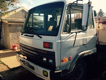 Nissan Diesel CM160 Tipper + 2t HiAb, Low Kms Port Lincoln 5606 Port Lincoln Area Preview