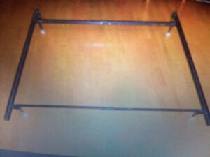 Single or double bed frame adjustable $50
