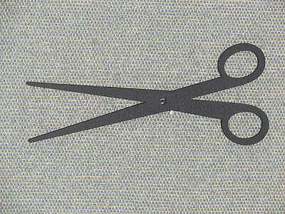 Wooden Wall Scissors Wall Art Decor for Sewing Room hair