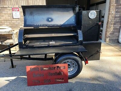 Start Bbq Concession Catering Pitmaster Business Smoker Grill Trailer Food Truck