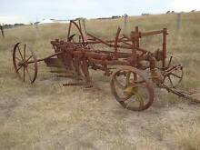 Very Old Five furrow plough Warwick Southern Downs Preview