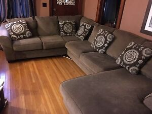 Ashley Furniture Chaise Sectional Couch