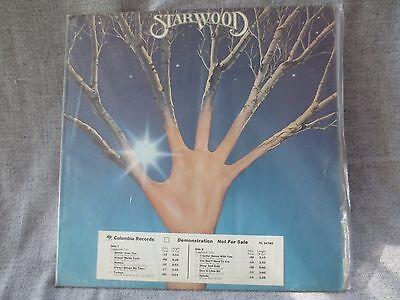 Vintage 1977 Starwood   Starwood Demo Lp Record Columbia Records Pc 34785