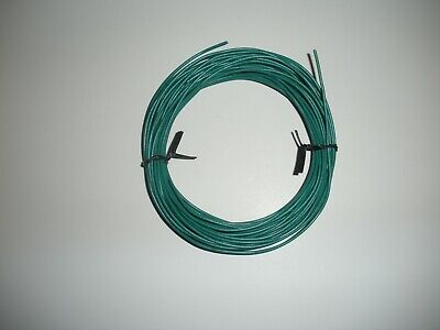 24 Awg Stranded Green Hook-up Wire Cable 10m 32.8ft Usa Seller.
