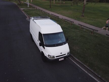 FORD TRANSIT CAMPERVAN 2001 MID ROOF READY TO GO!