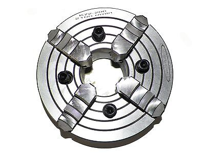 8 4 Jaw Independent Lathe Chuck In Premier Quality Semi Steel