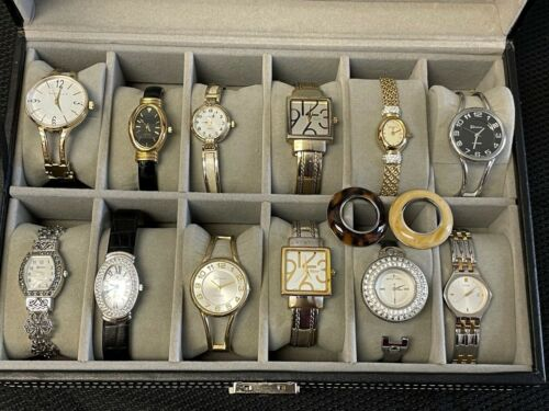 Estate Sale Ladies Watch Collection, Well Kept in Case, Michael Kors, Croton...