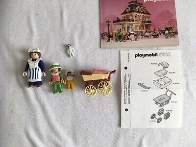 Vintage playmobil house, complete 5502