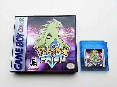 Pokemon Prism (2018) + Case v0.94 Build 229 - Game Boy Color - Fan GBC Custom segunda mano  Embacar hacia Argentina