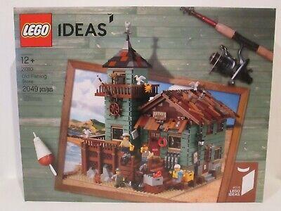 Lego Ideas set 21310 Old Fishing Store * BRAND NEW!* shack city shop