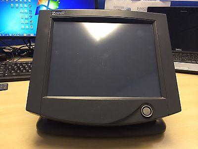 "Zonal Aztec 309 10,4"" Epos Touchscreen  Till Draw PoS Black Computer NO PSU"