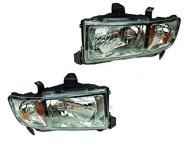 For 2006-2008 Honda Ridgeline Pickup Head Lights Driver & Passenger Side LH+RH