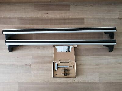 für BMW 5er Limousine Typ F10 NEU FPA komplett Dachträger Menabo Tema Alu