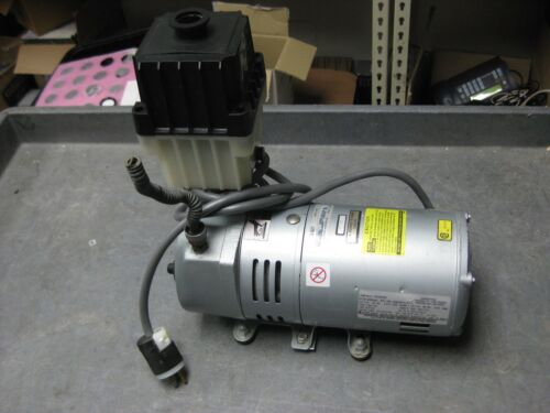 GAST VACUUM PUMP 0523-V191Q-G582DX with Edwards Oil Mist Filter 20