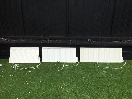 4 x LVI Electric Panel Heaters in good condition