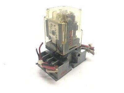 Potter Brumfield Krpa-11ag-120 Relay Coil 120v W 27ei22 Socket Rely Base 300v