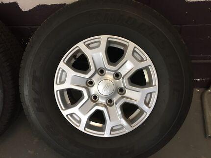 "Ford Ranger XLS 16"" Alloys & Tyres NEW set of 4"
