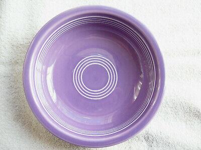 Vintage Fiestaware Hlc Lilac Cereal Bowl 6 3/4