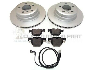 BMW X5 E53 2000-2006 REAR BRAKE DISCS AND PADS SHOES WEAR LEAD /& FITTING KIT