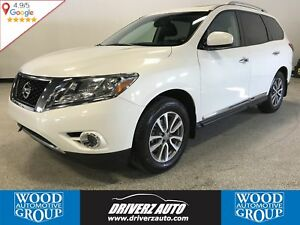 2014 Nissan Pathfinder SL 7 PASSENGER, DUAL SUNROOF, HEATED S...