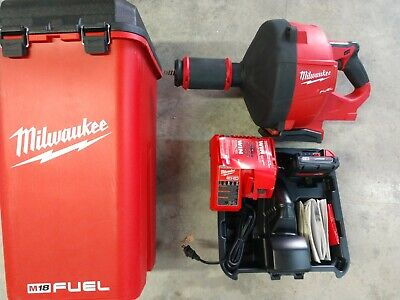 New Milwaukee M18 Fuel Drain Snake Drain Cleaner Model 2772a-21