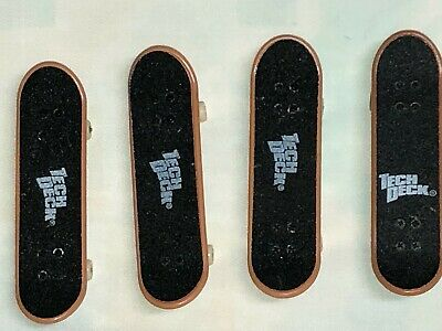 Lot of 4 Tech Deck finger skateboards