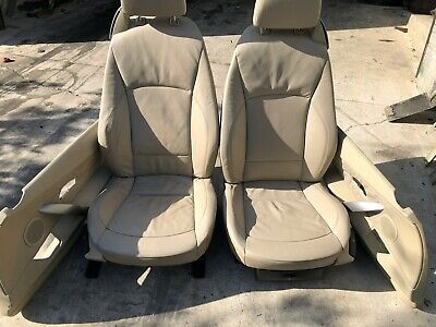 BMW Z4 BEIGE LEATHER SEATS AND DOOR CARDS