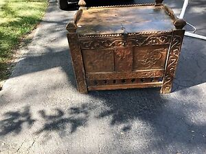 Antique Moroccan chest