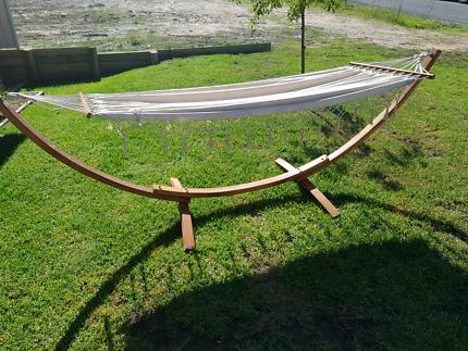 Timber stand hammock